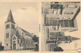 Maizeret L'Eglise et la Maison communale