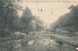 Thon Samson Inondation du Samson le 11 juin 1910 – Les Forges