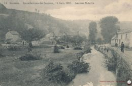 Thon Samson Inondation du Samson le 11 juin 1910 – Ancien Moulin
