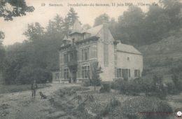 Thon Samson Inondation du Samson le 11 juin 1910 – Château de Vil en Val