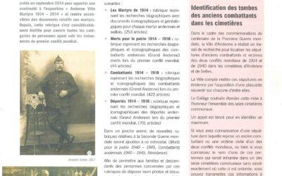 Le «Mémorial» de Bibliotheca Andana