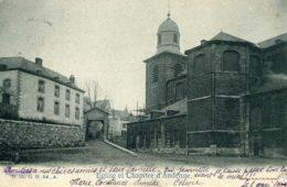 Andenne Eglise et Place du Chapitre