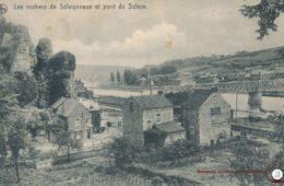 Sclaigneaux Les Rochers et le Pont