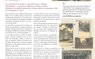L'histoire de la famille Hambursin à Sclayn