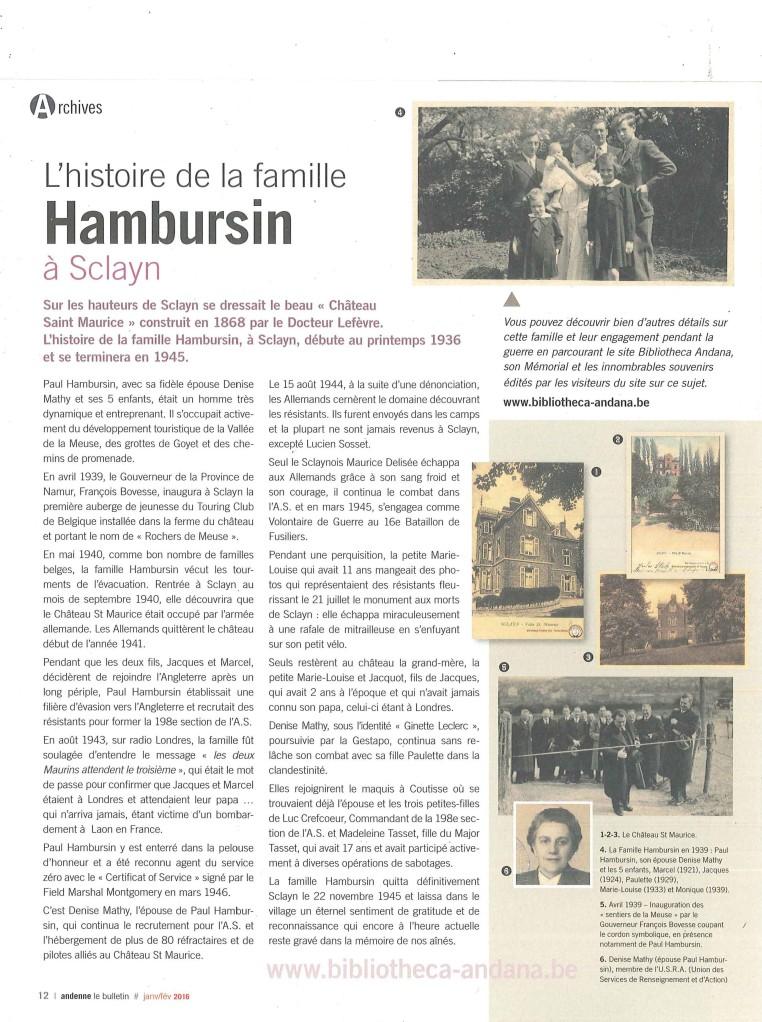 Famille Hambursin