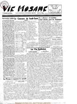 10e année - n°439 - 16 avril 1955