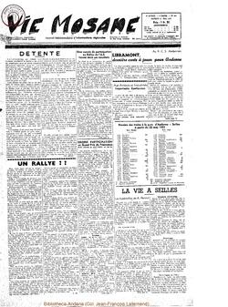 10e année - n°444 - 21 mai 1955