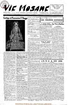 10e année - n°451 - 9 juillet 1955