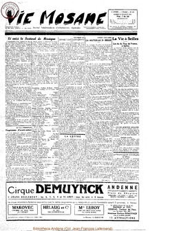 10e année - n°454 - 30 juillet 1955