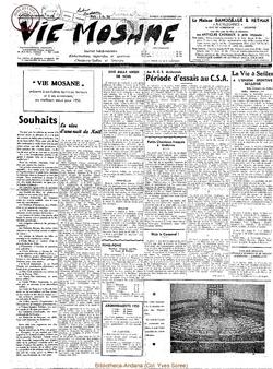 10e année - n°476 - 31 décembre 1955