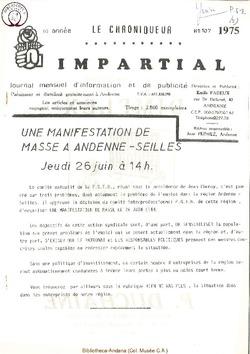 10e année - n107 - juin 1975