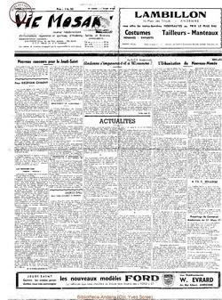12e année - n°542 - 13 avril 1957