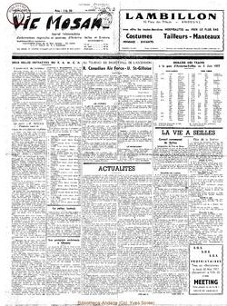 12e année - n°548 - 25 mai 1957