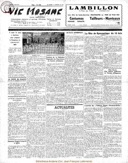 12e année - n°550 - 9 juin 1957