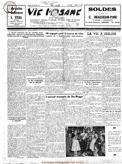 12e année - n°556 - 20 juillet 1957
