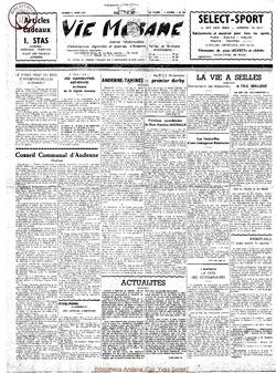 12e année - n°561 - 31 août 1957