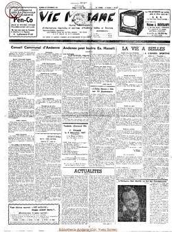 12e année - n°574 - 30 novembre 1957