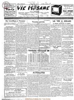 12e année - n°575 - 7 décembre 1957