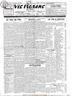 14e année - n°629 - 3 janvier 1959