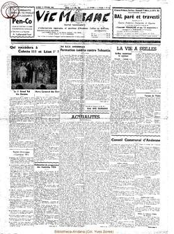 14e année - n°636 - 21 février 1959