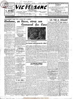 14e année - n°638 - 7 mars 1959
