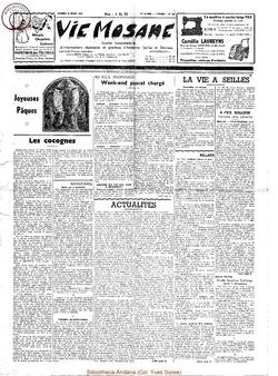 14e année - n°641 - 28 mars 1959