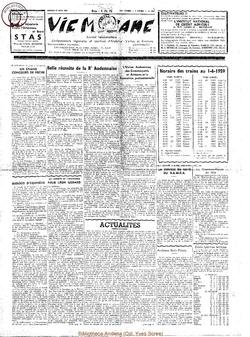 14e année - n°654 - 27 juin 1959