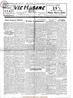 14e année - n°664 - 5 septembre 1959