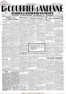 16e annee - n21 - 21 mai 1939