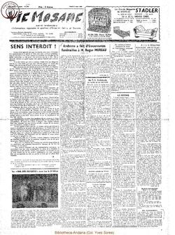 17e année - n°771 - 3 mars 1962