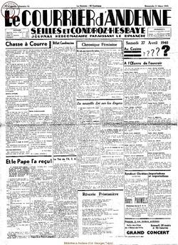 17e annee - n13 - 31 mars 1940