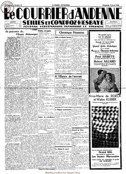17e annee - n15 - 14 avril 1940