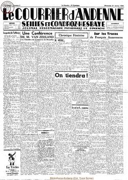 17e annee - n3 - 21 janvier 1940