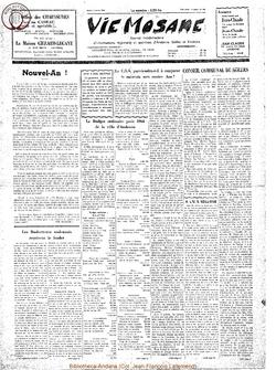 19e année - n°1 - 4 janvier 1964