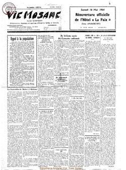 19e année - n°20 - 16 mai 1964