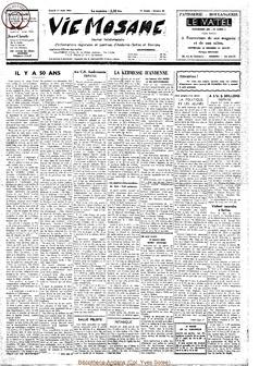 19e année - n°30 - 1 août 1964