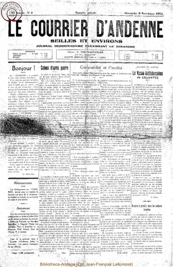 1ère annee - n°1 - 9 novembre 1924