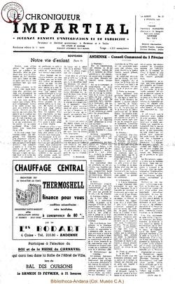 1er année - n12 - 6 février 1967