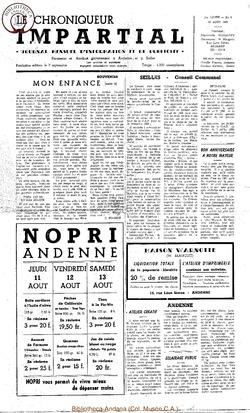 1er année - n6 - 10 août 1966