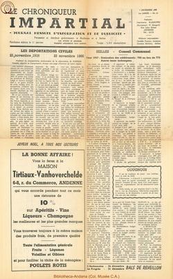 1er année - n10 - 7 decembre  1966