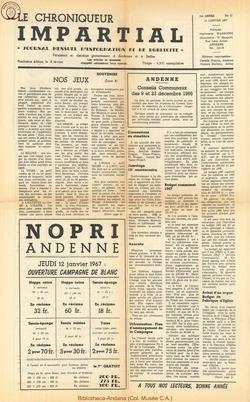 1er année - n11 - 11 janvier  1967