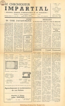1er annee - n2 - 6 avril 1966