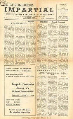 1er année - n8 - 5 octobre  1966