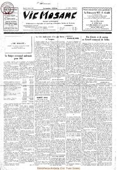 20e année - n°1 - 2 janvier 1965
