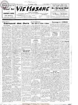 20e année - n°12 - 20 mars 1965