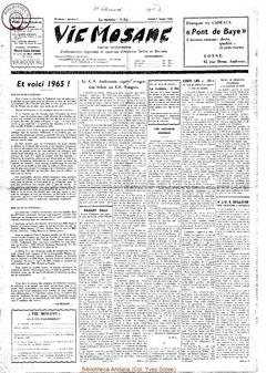 20e année - n°2 - 9 janvier 1965