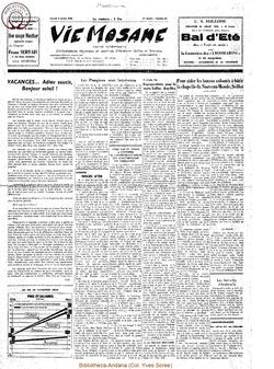 20e année - n°27 - 3 juillet 1965