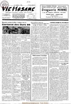 21e année - n°10 - 12 mars 1966