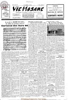 21e année - n°11 - 19 mars 1966