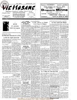 26e année - n°15 - 10 avril 1971